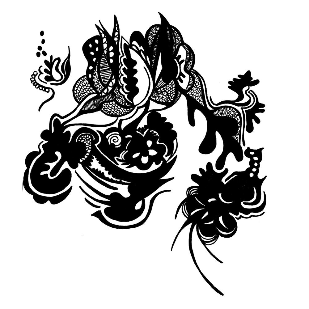 horse doodle